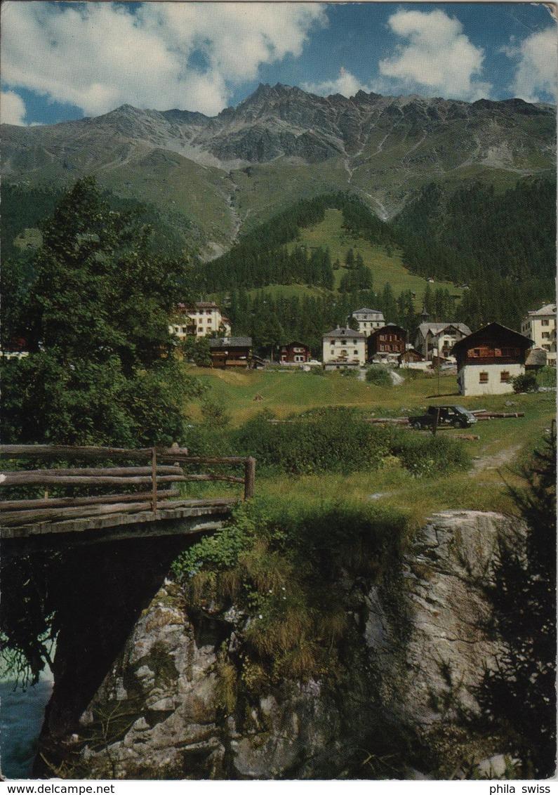 Zinal, Val D'Anniviers - Stempel: Merlingen - VS Valais