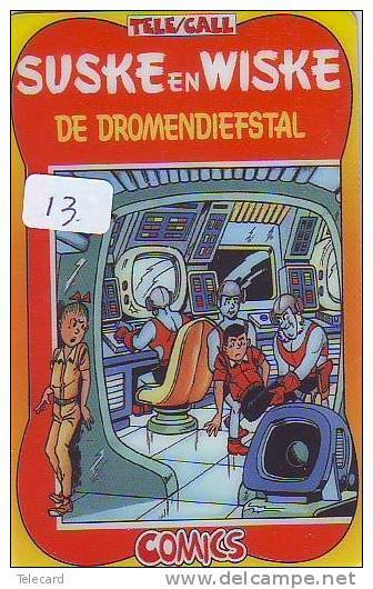Télécarte SUSKE EN WISKE (13) PHONECARD - De Dromendiefstal - BD