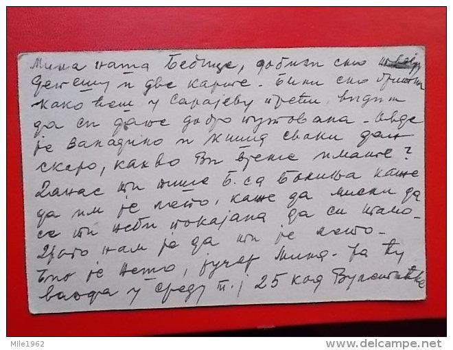 Kov 1111 - CARTE POSTALE, DOPISNICA, YUGOSLAVIA, - Covers & Documents
