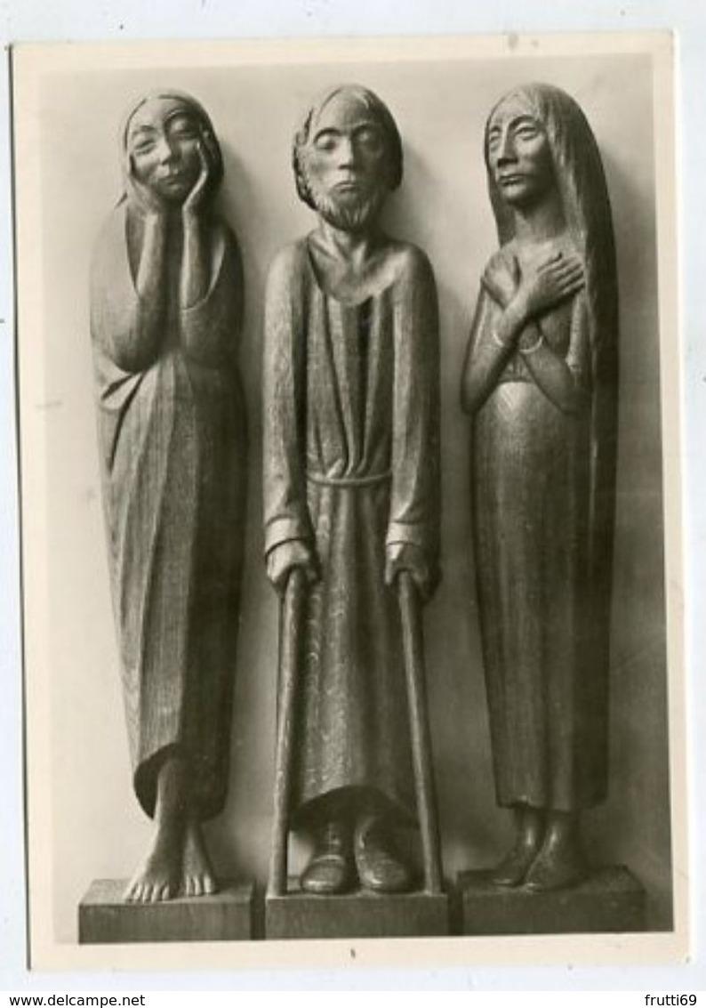 ART / SCULPTURE - AK 314468 Ernst Barlach - Drei Figuren Vom Fries Der Lauschenden - Skulpturen