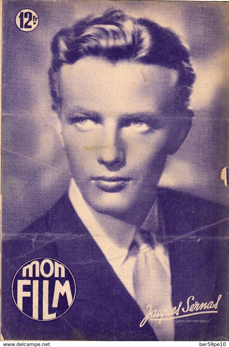 MON FILM ROMAN PHOTO 2 PAGES CENTRALES (LES AMOURS DE NOS VEDETTES) N° 193L'HOMME DE LA TOUR EIFFEL - Cina/ Televisión