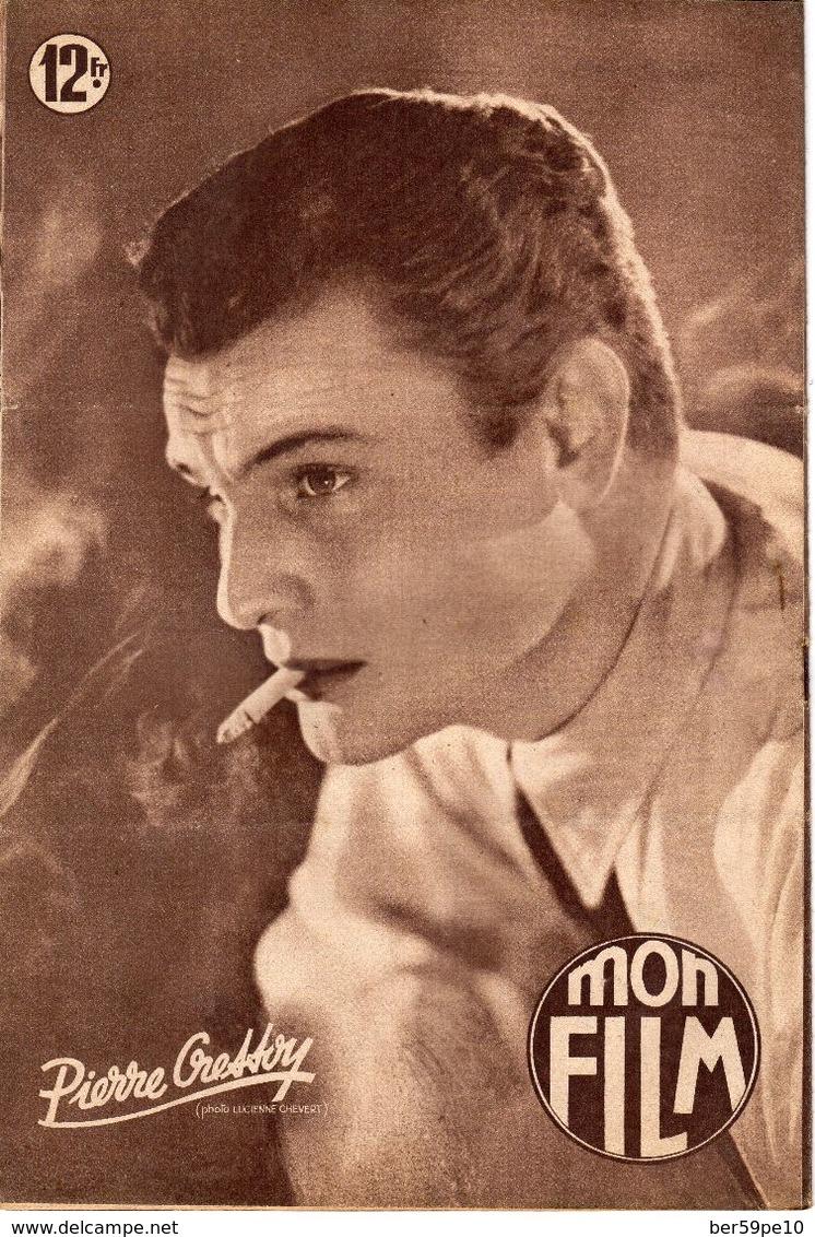 MON FILM ROMAN PHOTO 2 PAGES CENTRALES (LES AMOURS DE NOS VEDETTES) N° 194 ETERNEL TOURMENT - Cina/ Televisión