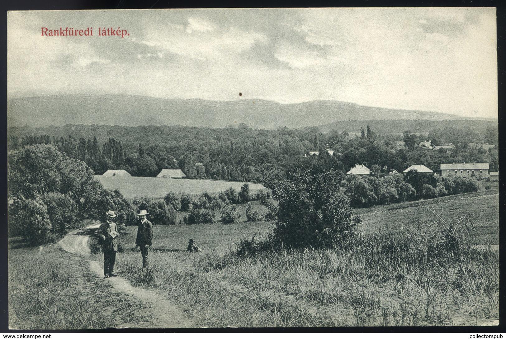 HUNGARY SLOVAKIA /  RÁNKFÜRED 1915 Vintage Picture Postcard - Hungary