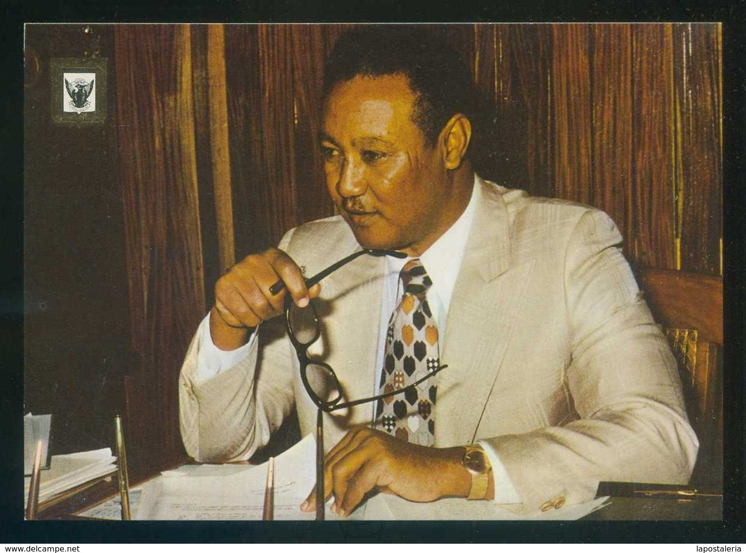 Sudán. *Gaafar M. Nimeiri - President Of Democratic Republic Of The Sudan* Nilo Distr. Nº 2B. Nueva. - Sudan