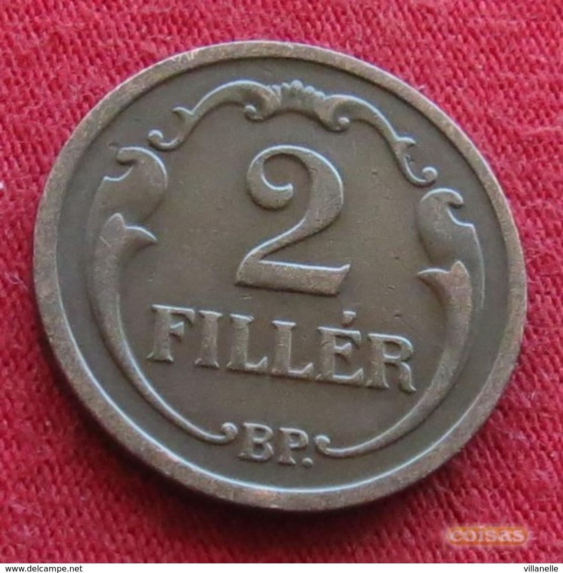 Hungary 2 Filler 1930 KM# 506 Hongrie Hungria Ungarn Ungheria Magyar - Hongrie
