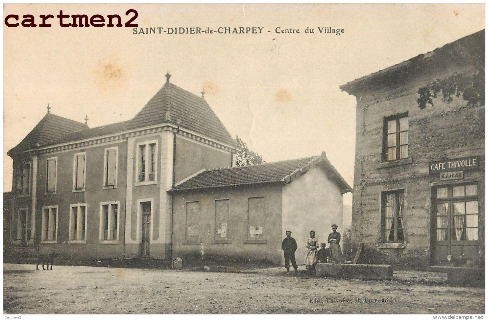 SAINT-DIDIER-DE-CHARPEY CENTRE DU VILLAGE 26 - Francia