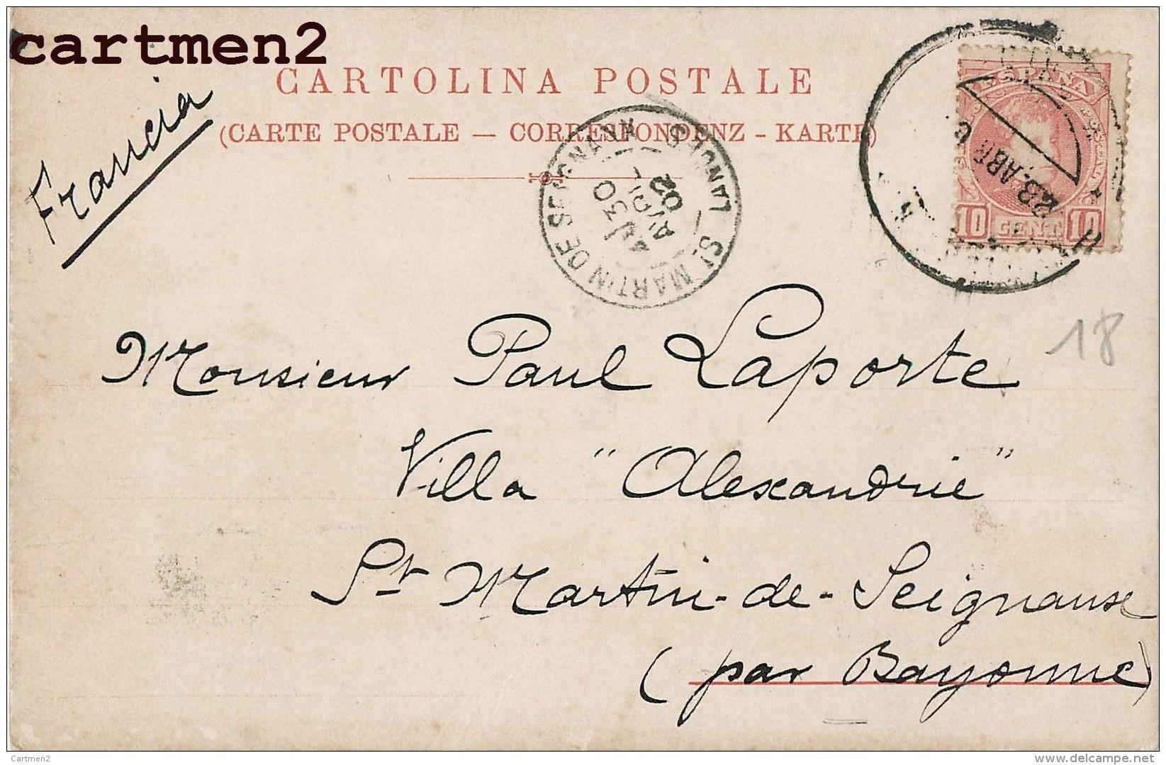 SERIE FIORI E FARFALLONI ART NOUVEAU ILLUSTRATEUR ITALIA SURREALISME TORINO 1900 - Non Classificati