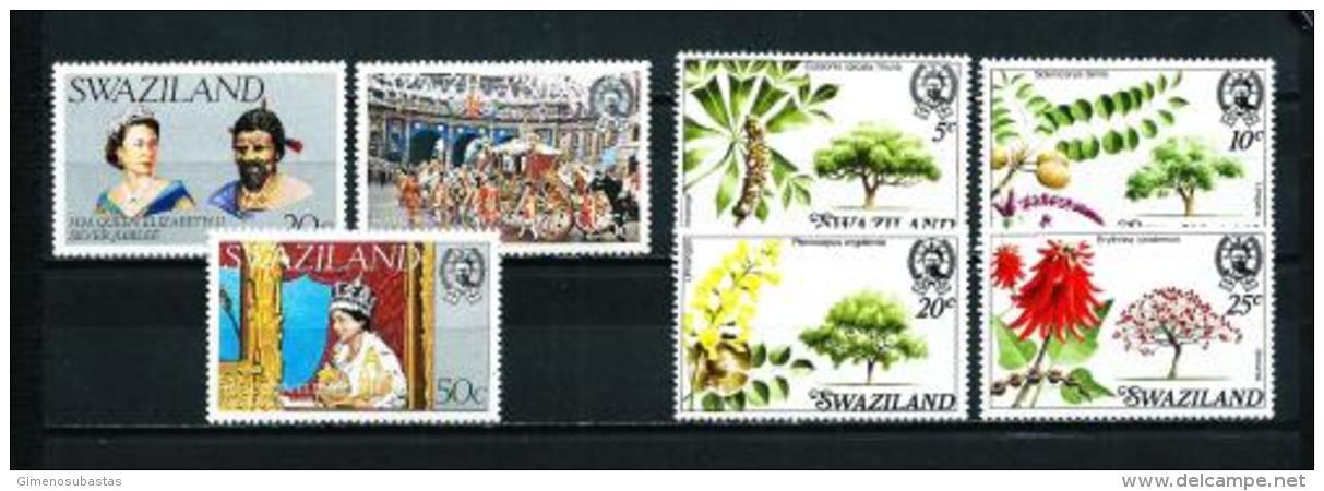 Swaziland  Nº Yvert  267/9-282/5  En Nuevo - Swaziland (1968-...)