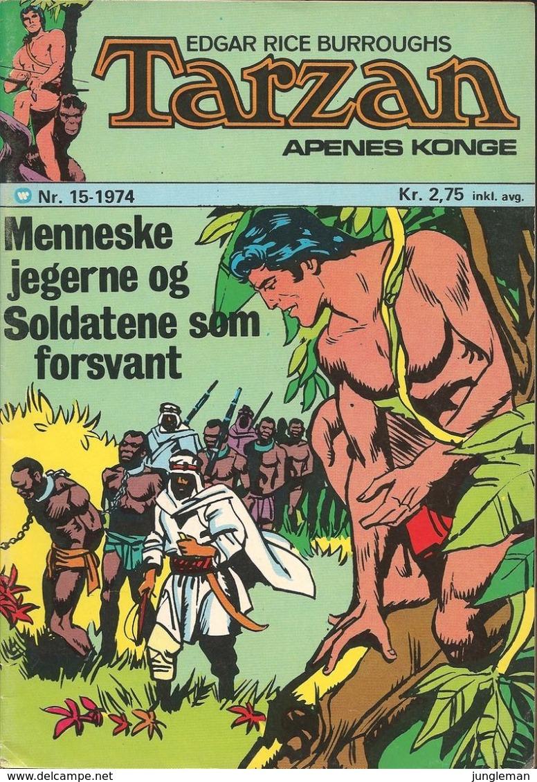 Tarzan Apenes Konge N° 15 – Menneskejegerne (in Norwegian) Williams Forlag Oslo - Juli 1974 - Limite Neuf - Books, Magazines, Comics