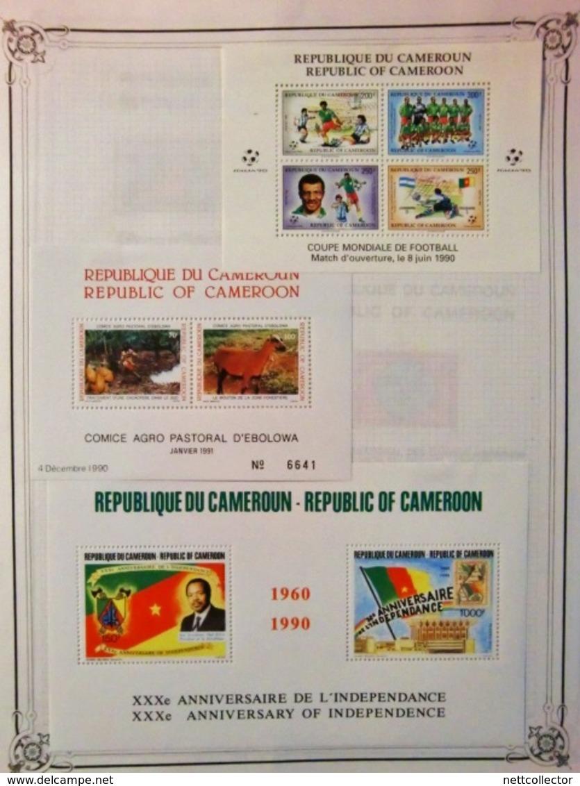 CARTON COLONIES FRANCAISES AVANT INDEPENDANCE AVEC TIMBRES SUR FEUILLES - Frankreich (alte Kolonien Und Herrschaften)