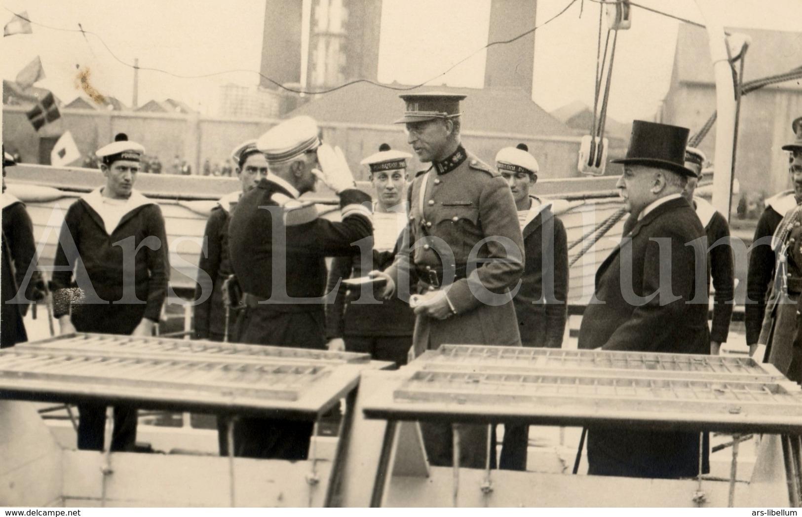 Postcard / ROYALTY / Belgique / Roi Albert I / Koning Albert I / L'explorateur Jean-Baptiste Charcot / 1926 - Autres Célébrités