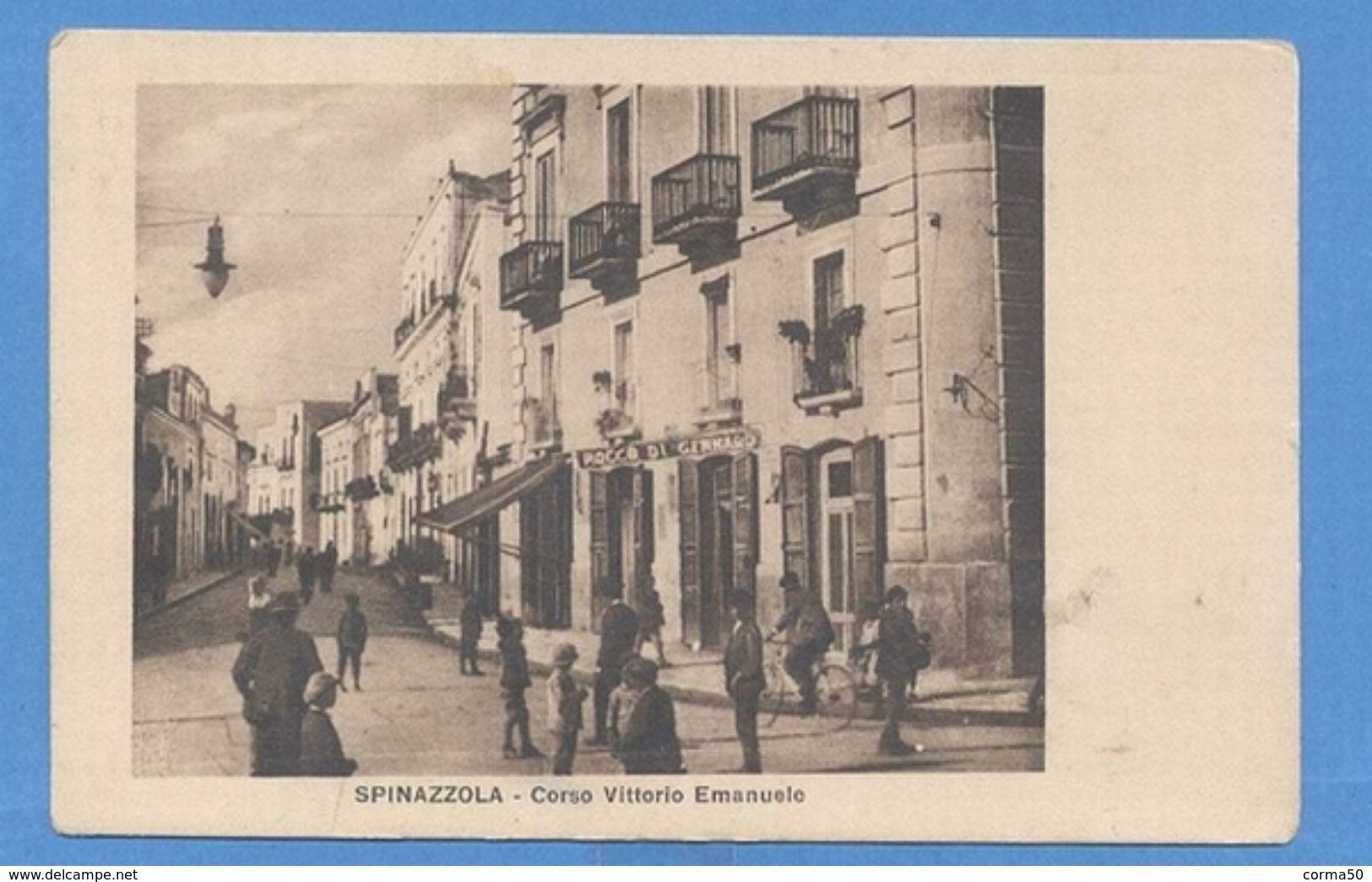 Spinazzola -  Corso  Vittorio Emanuele - Bari