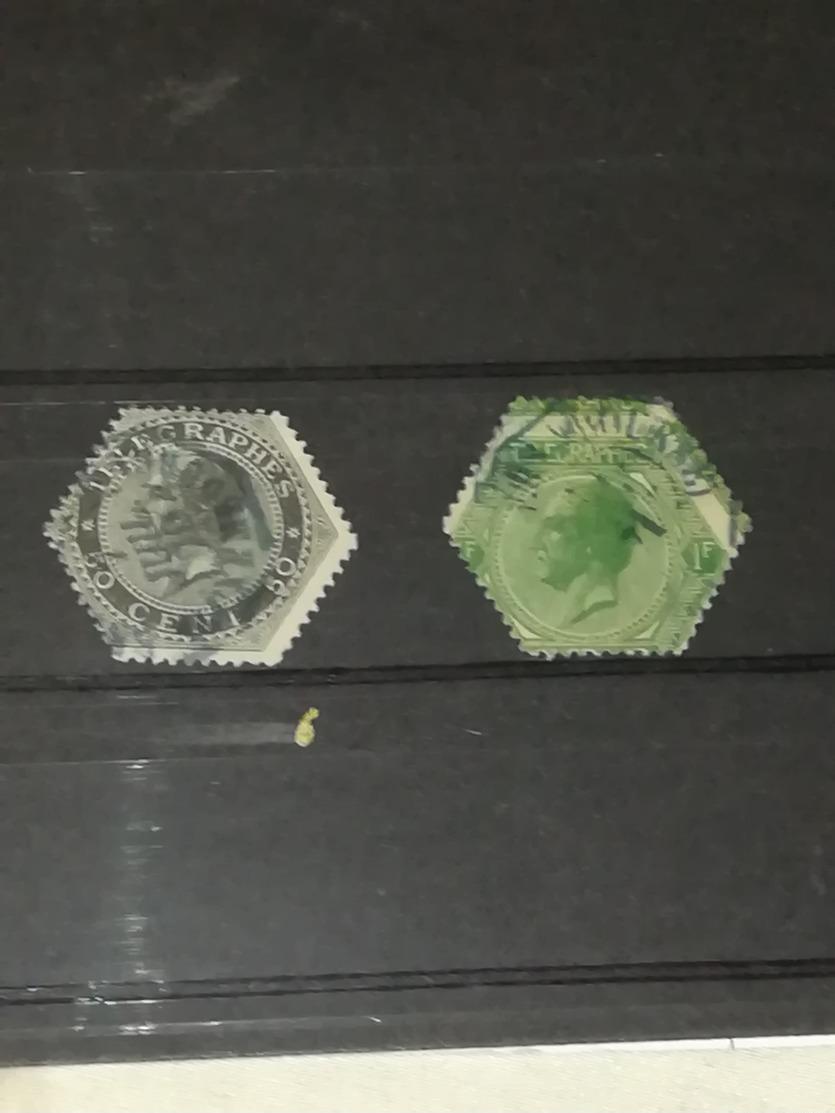 Belgique 1866 - TG1/TG2 Oblitérés - Télégraphes