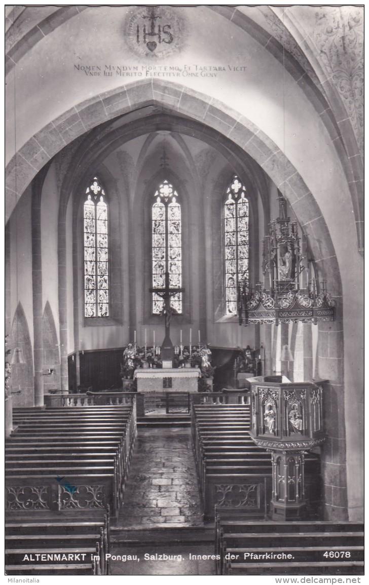 Altenmarkt Im Pongau - Inneres Der Pfarrkirche (46078) * 1957 - Altenmarkt Im Pongau