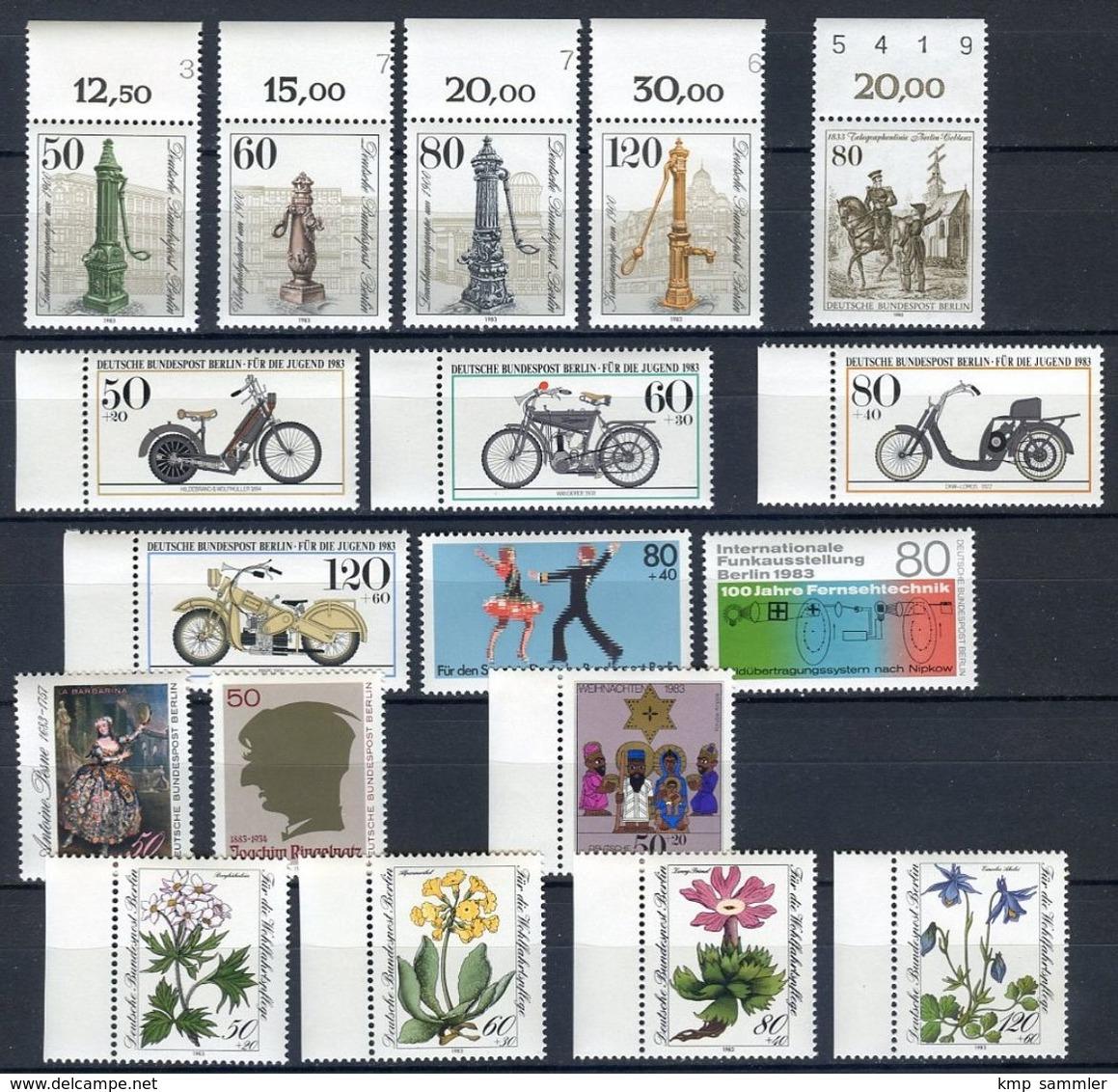 Berlin Lot Postfrische Marken 1983 (16910) - Berlin (West)