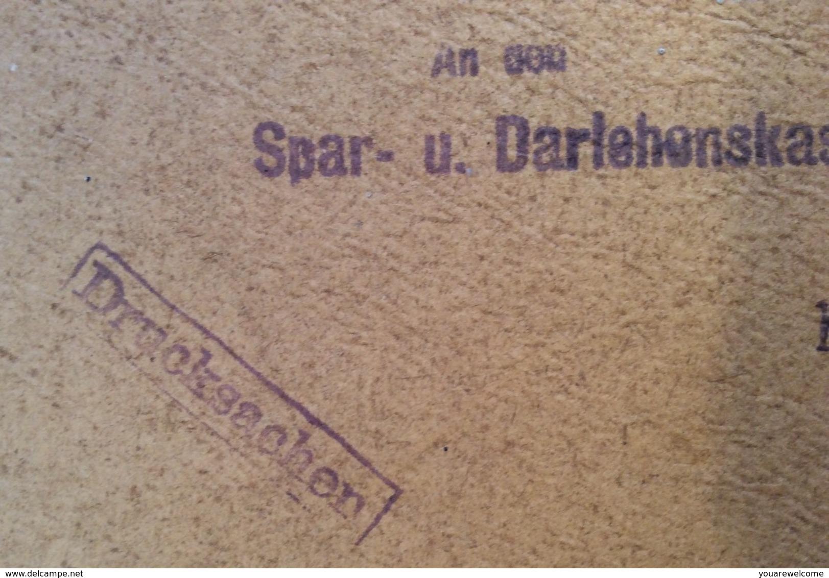 1908 30 H. EF DRUCKSACHE PAKET RRR ! > Hörbranz (Mi. 148, Brief Austria Parcel Printed Matter Cover Österreich - 1850-1918 Imperium