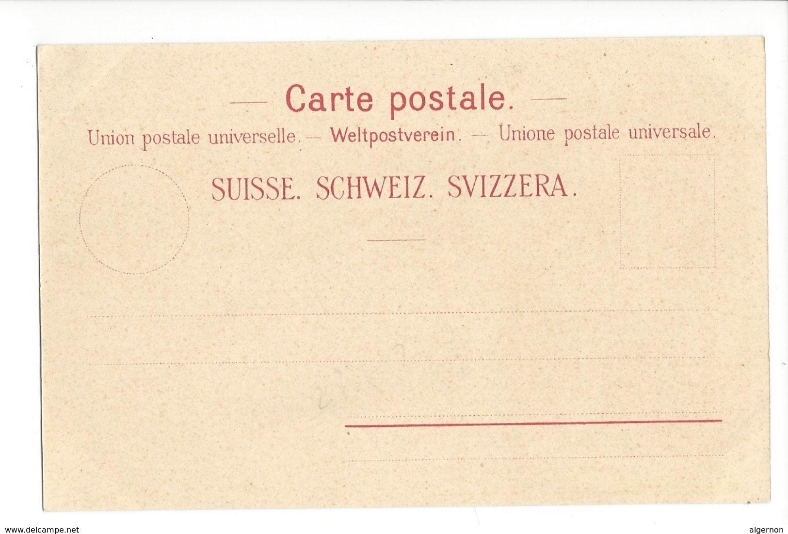 19295 - Centenaire Du Canton De Vaud 1803-1903 Rencontre Helvetie Et Vaudoise - VD Vaud