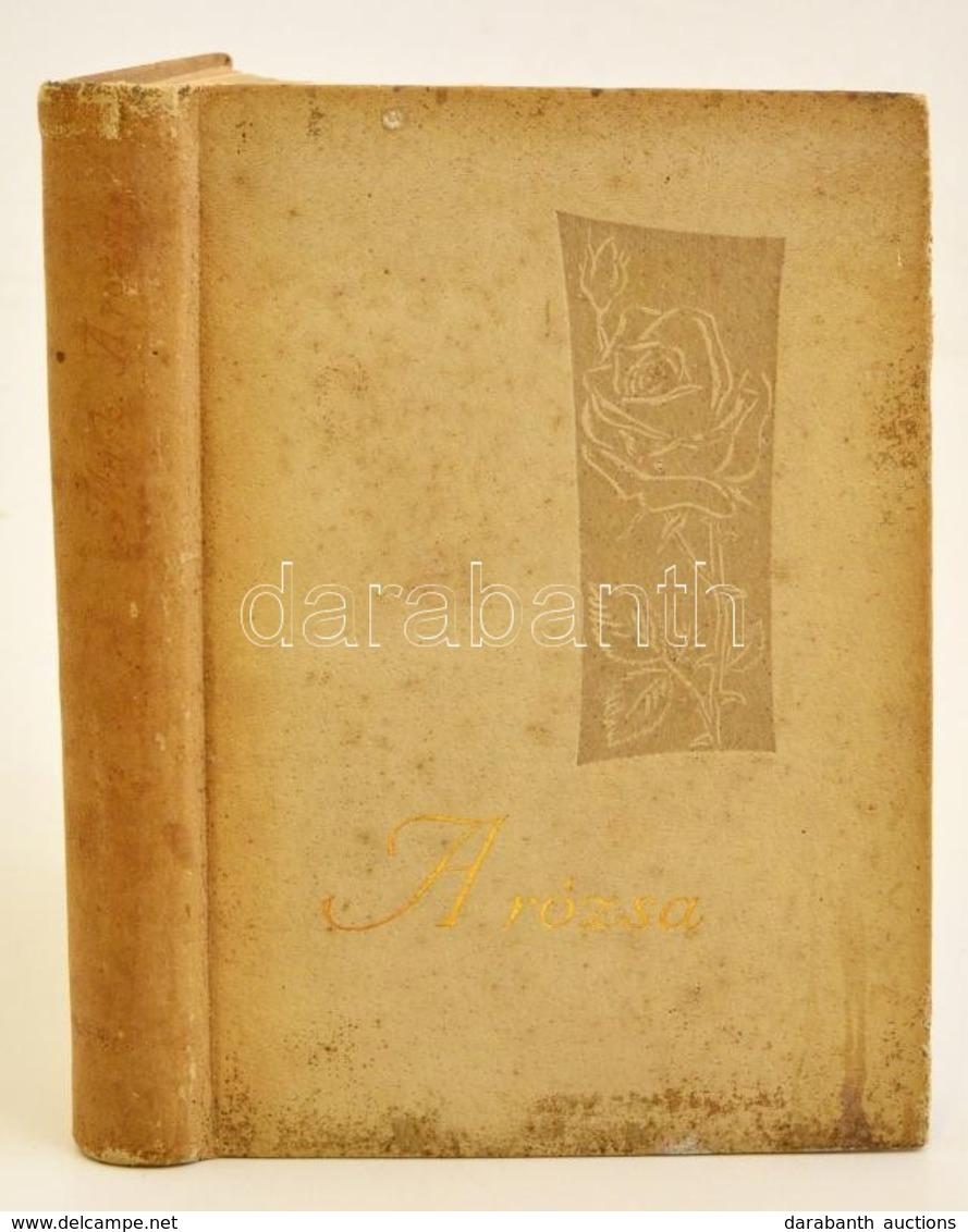 Márk Gergely: A Rózsa. Bp.,1959, Mezőgazdasági. Első Kiadás. Kiadói Foltos Egészbőr-kötés. - Books, Magazines, Comics