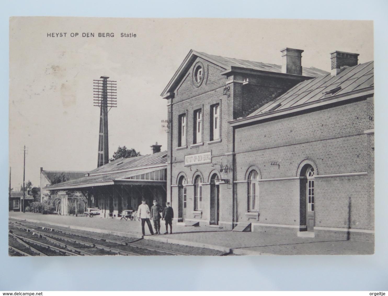 Heist-op Den Berg Statie (gare,station)1923 - Heist-op-den-Berg