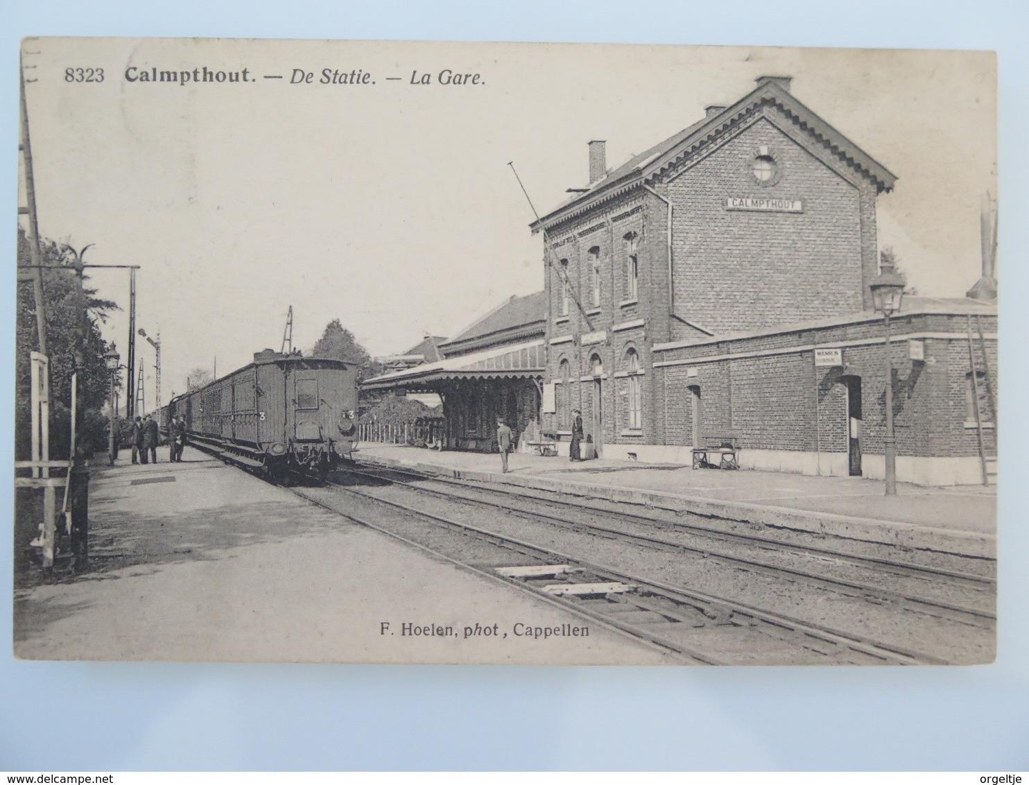 Calmpthout Kalmpthout Statie (gare,station) - Kalmthout