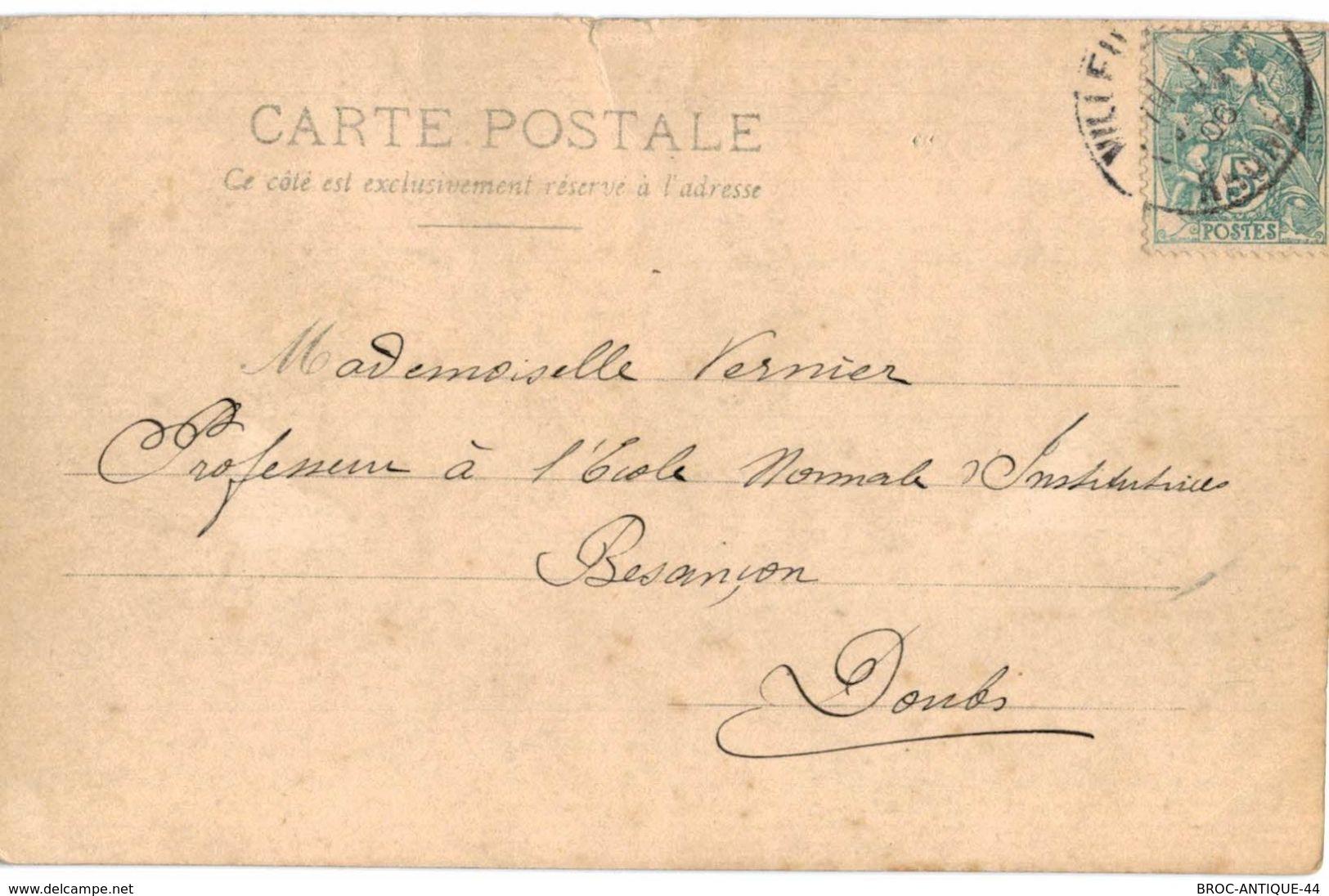 CPA N°18881 - LOT DE 6 CARTES DE LYON - PLACE DU PONT ET COURS GAMBETTA - Lyon