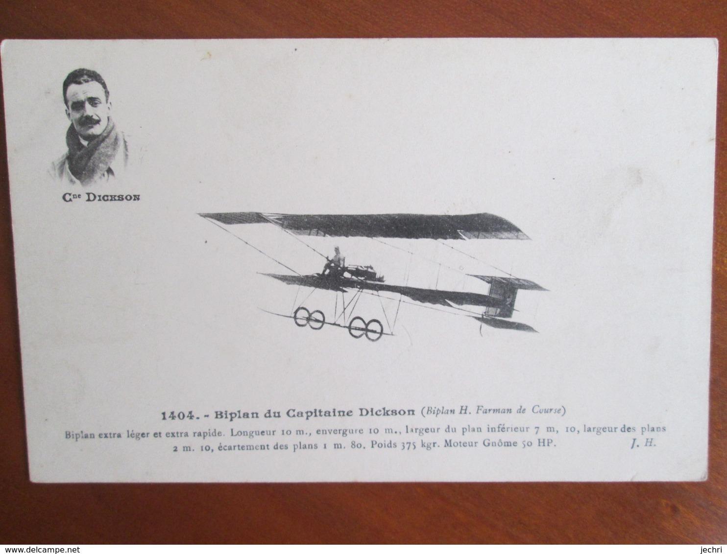 Biplan Du Capitaine Dickson - Autres