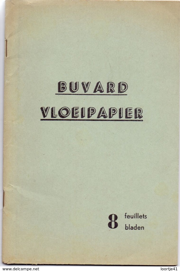 Buvard Vloeipapier - Boekje Met 6 Stuks Ongebruikt - Buvards, Protège-cahiers Illustrés