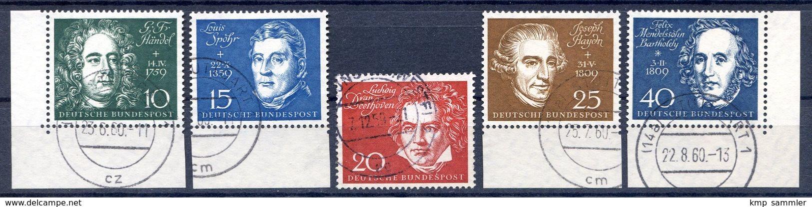 Bund MiNr 315 Bis 319 Gestempelt (16934) - BRD
