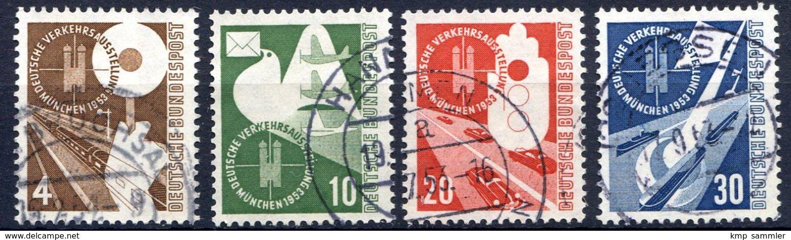 Bund MiNr 167 Bis 170 Gestempelt (16939) - BRD