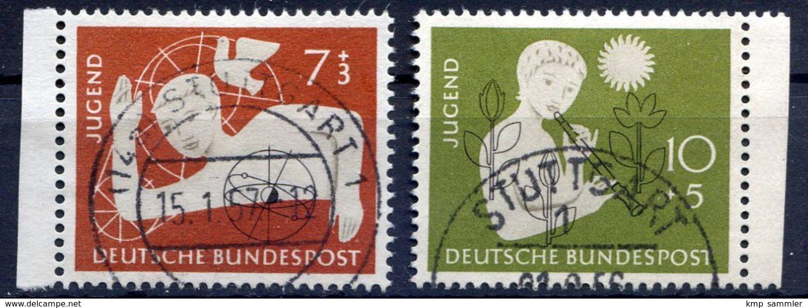 Bund MiNr 232 Bis 233 Gestempelt (16942) - BRD