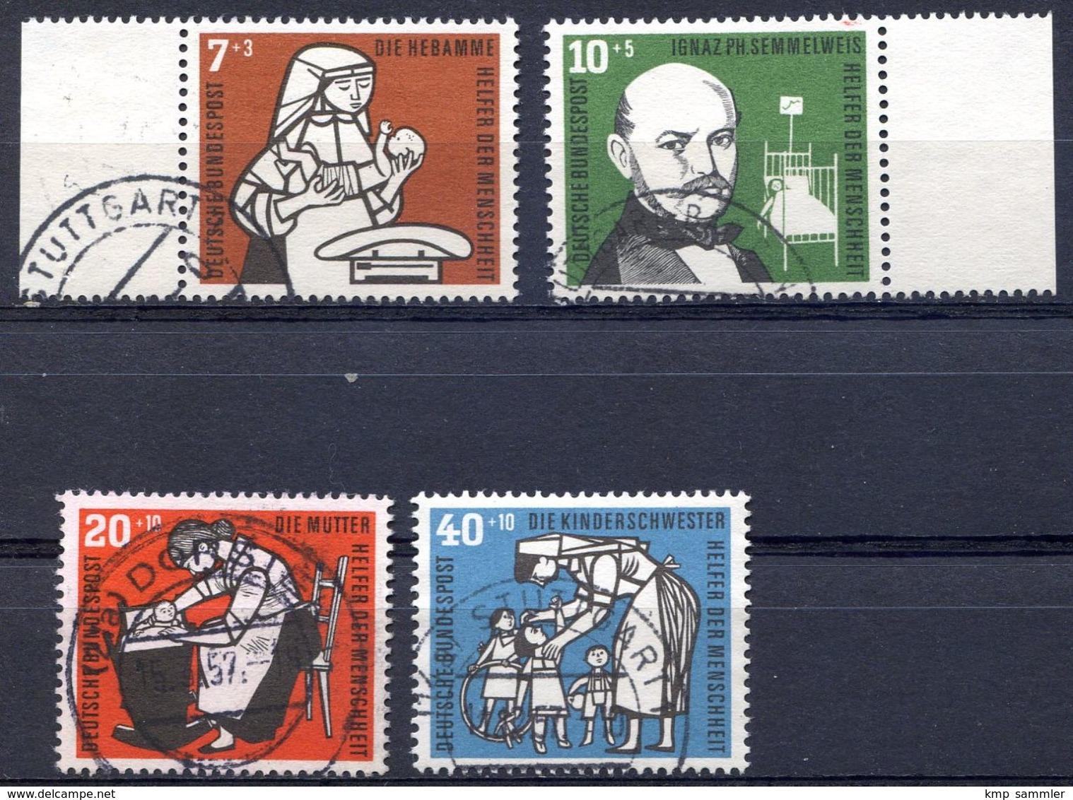 Bund MiNr 243 Bis 246 Gestempelt (16943) - BRD