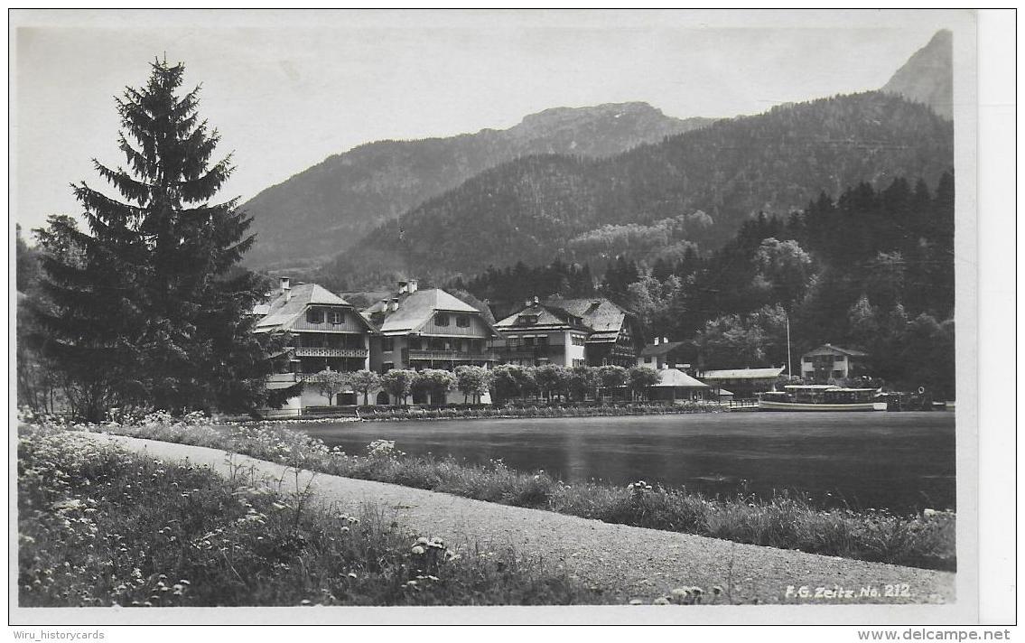 AK 0842  Königssee - Hotel Schiffmeister Mit Kehlstein / Verlag Zeitz Um 1920-30 - Berchtesgaden