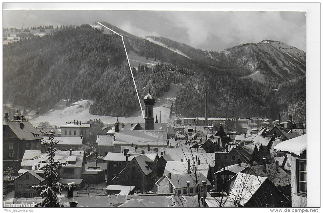 AK 0842  Immenstadt Mit Berglift Zum Mittaggipfel Und Steineberg - Verlag Hipp Um 1960 - Immenstadt