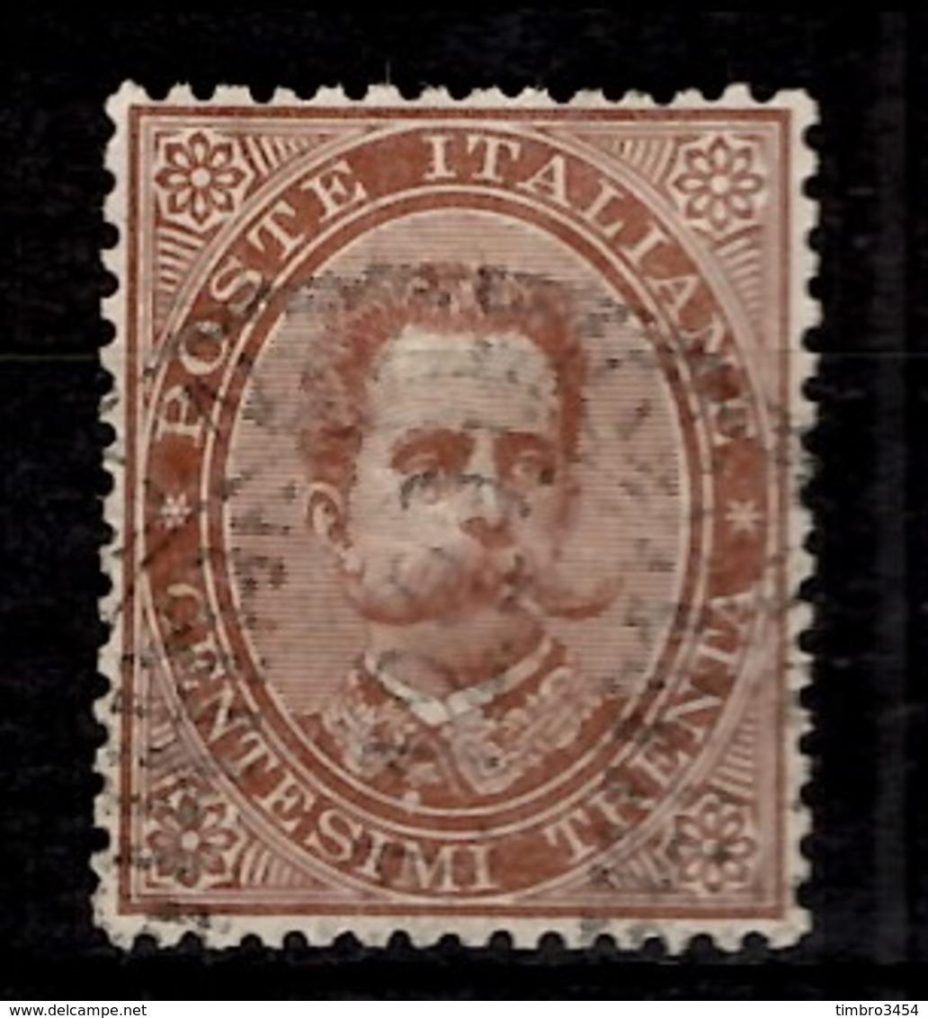 Italie YT N° 37 Oblitéré. B/TB. A Saisir! - 1878-00 Humbert I