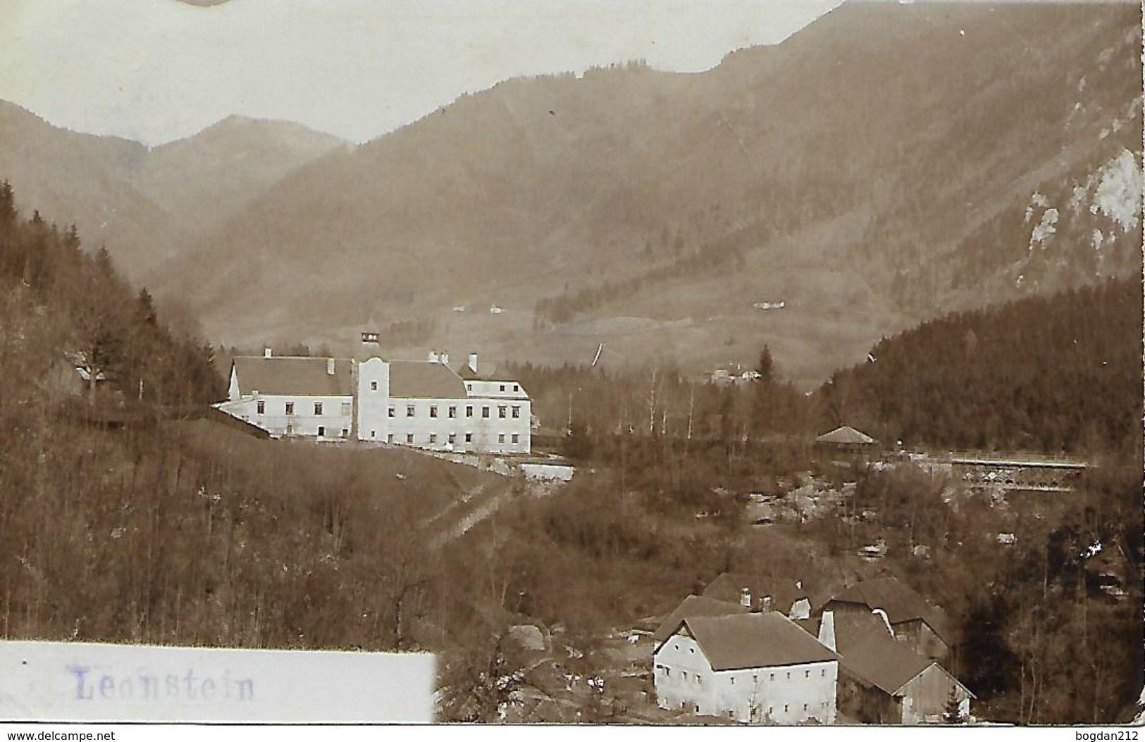 1907 - LEONSTEIN, Gute Zustand, 2 Scan - Österreich