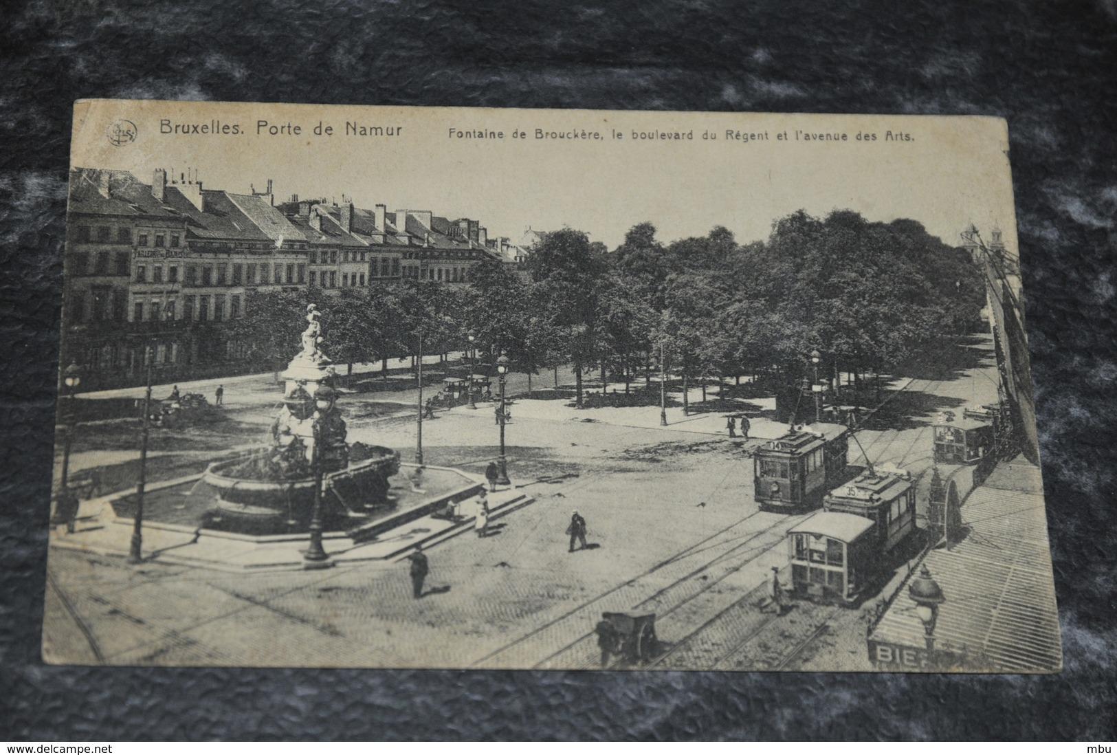 583  Bruxelles  Brussel Porte De Namur   Tram - Non Classés