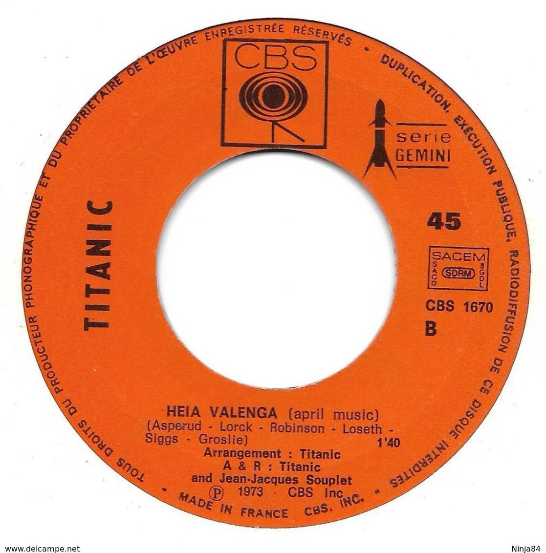 "Titanic  ""  Richmond Express  "" - Soundtracks, Film Music"