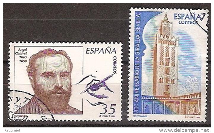 España U 3586/87 (o) Centenarios. 1998 - 1991-00 Oblitérés