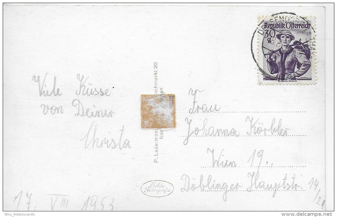 AK 0842  Drossendorf An Der Thaya -- Verlag Ledermann Um 1950 - Waidhofen An Der Thaya
