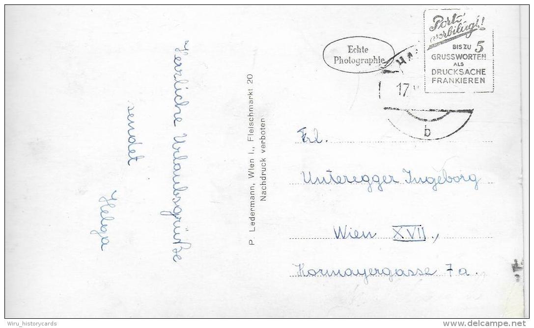 AK 0842  Hardegg An Der Thaya -- Verlag Ledermann Um 1950 - Waidhofen An Der Thaya