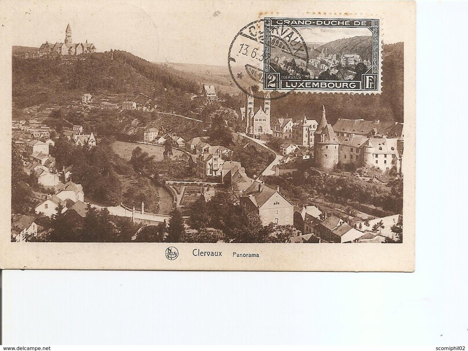 Luxembourg ( CP De 1932 De Clervaux Vers La Belgique à Voir) - Luxembourg