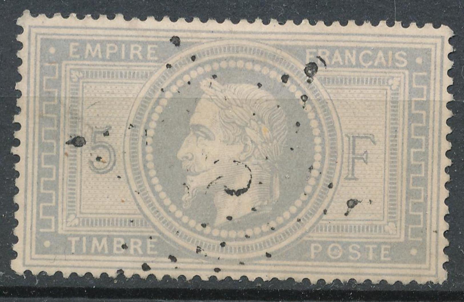 N°33 ETOILE DE PARIS 1er CHOIX. - 1863-1870 Napoléon III Lauré