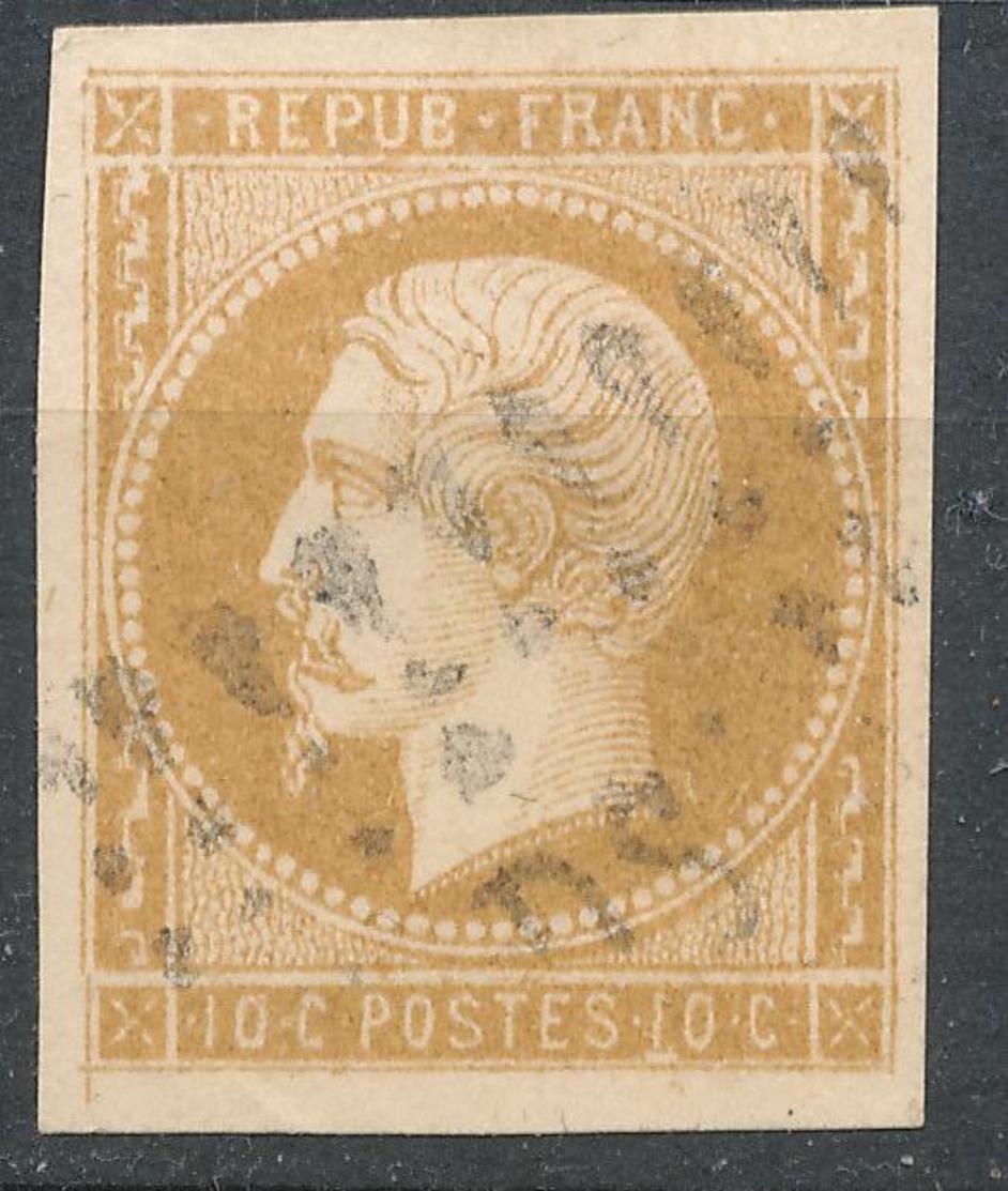 N°9 OBLITERATION D.S. - 1852 Louis-Napoleon
