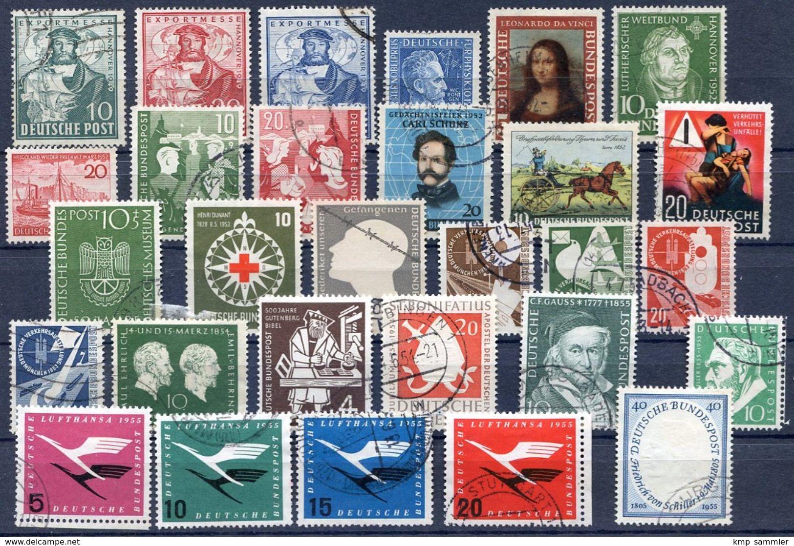 Bund Lot Gestempelte Marken (16955) - [7] Federal Republic