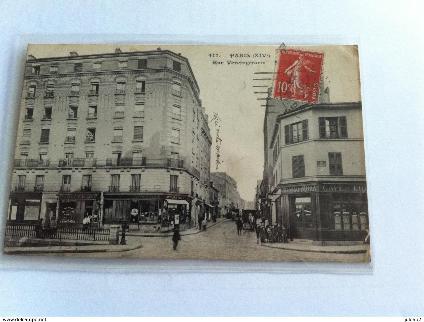 411 - Paris (XIV) Rue Vercingétorix - Arrondissement: 14