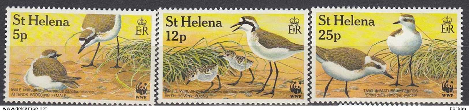 St Helena - WWF / BIRDS 1993 MNH - Saint Helena Island