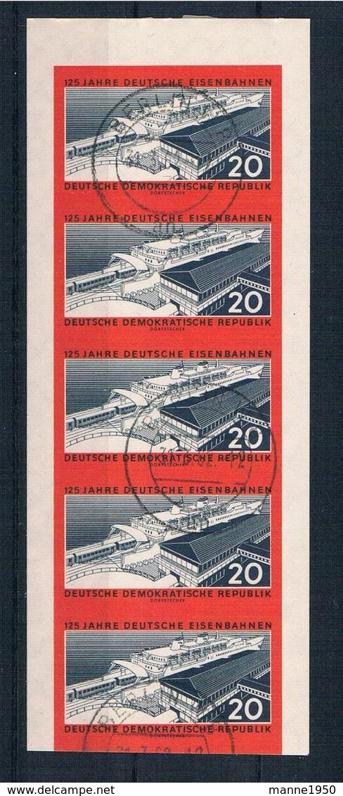 DDR 1960 Eisenbahn Mi.Nr. 805 B Gestempelt Geprüft - DDR
