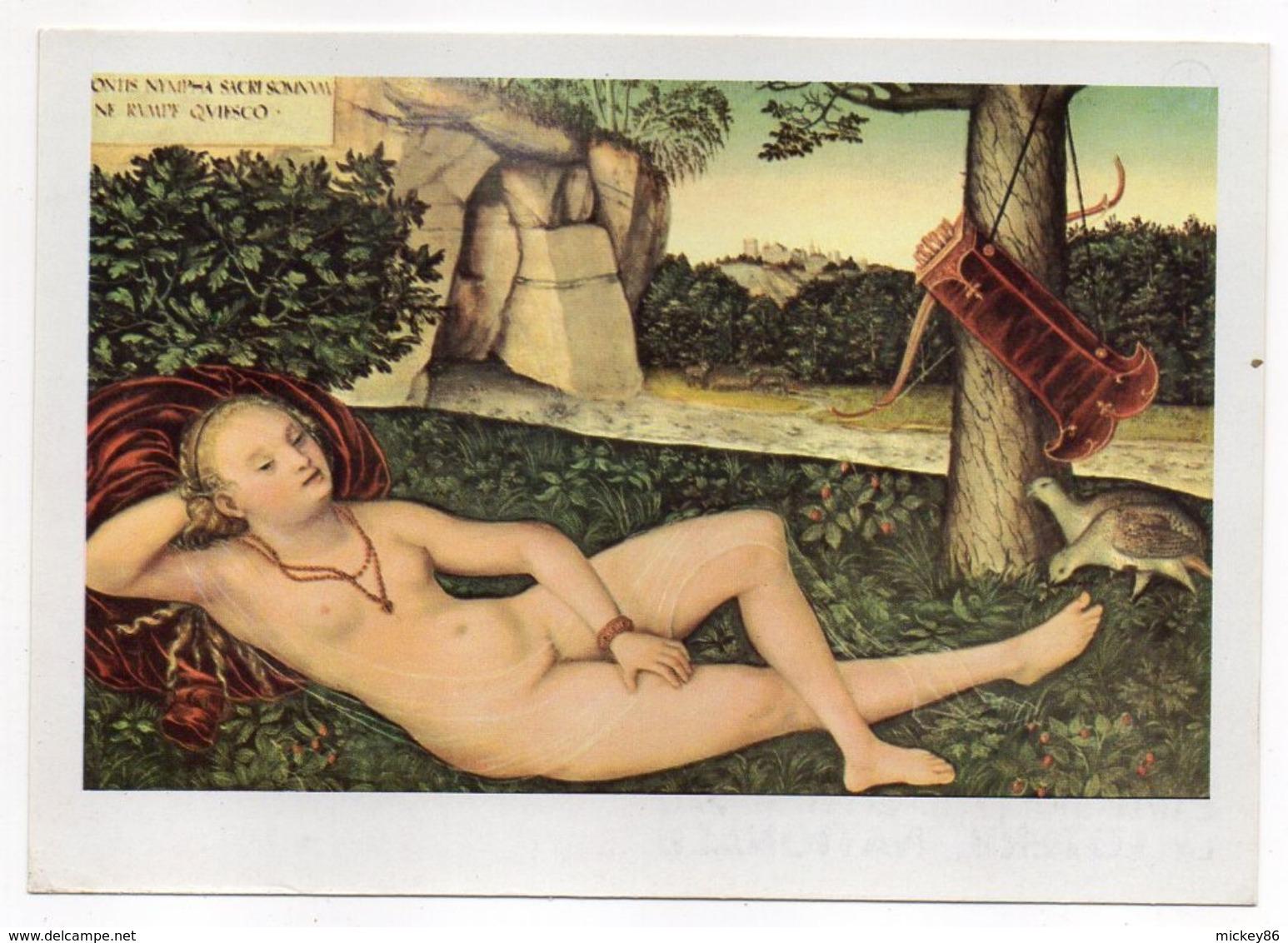 NU--tableau  -- Lucas  CRANACH -- Le Repos  De Diane - Tableaux