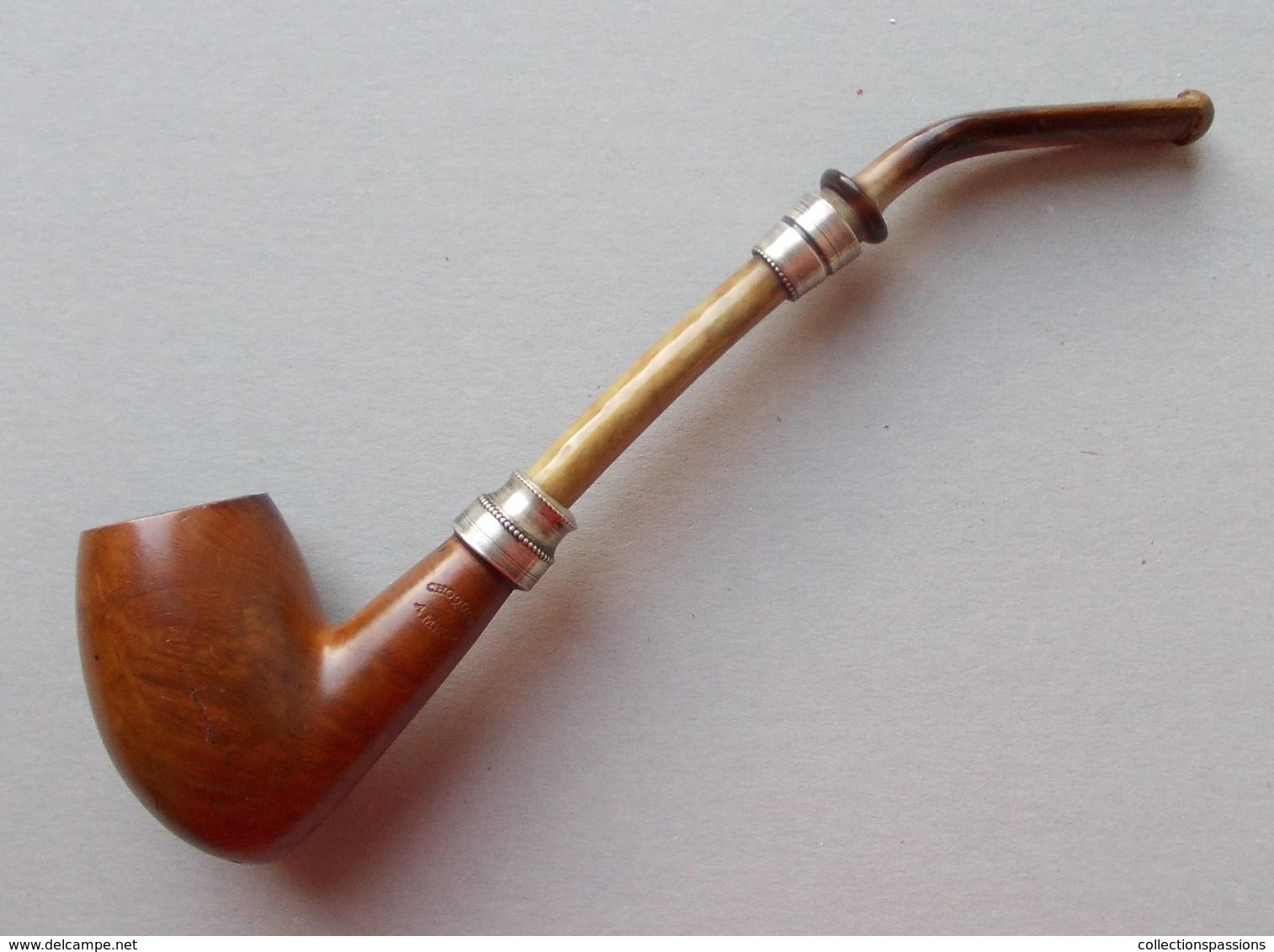- Ancienne Pipe - Choquin à Metz - - Heather Pipes