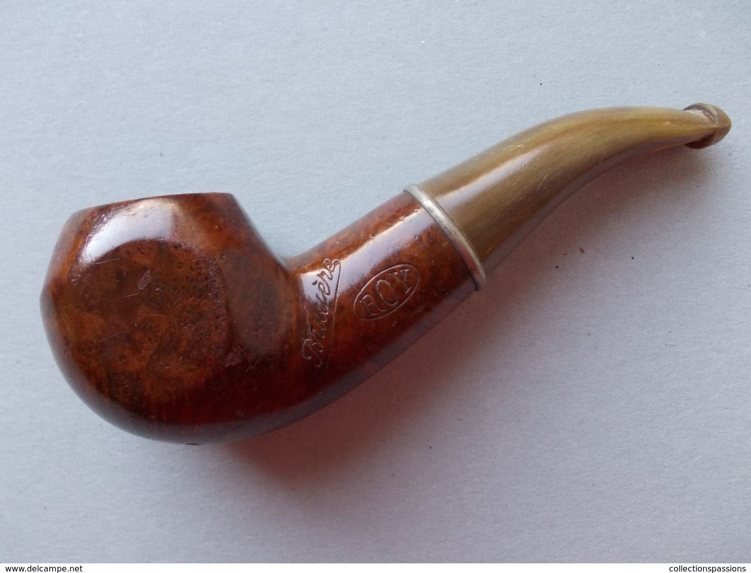 - Ancienne Pipe - ROY - - Heather Pipes